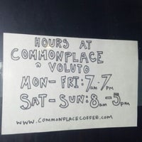 Photo taken at Commonplace @ Voluto by eye on 7/14/2012