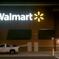 Photo taken at Walmart Supercenter by Reggie C. on 3/2/2012