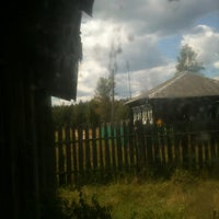 Photo taken at Станция Степурино by Matt U. on 7/29/2012