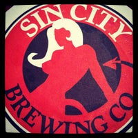 Photo taken at Sin City Brewing Co. by Kristie K. on 6/22/2012