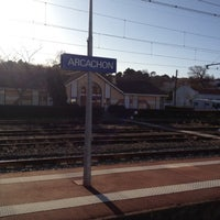 Photo taken at Gare SNCF d'Arcachon by Alexis B. on 12/24/2011