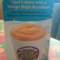 Photo taken at Tropical Smoothie Cafe by Khadija H. on 4/4/2012