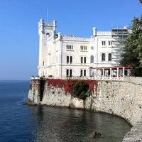 Photo taken at Castello di Miramare by Fabio on 10/31/2011