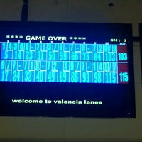 Photo taken at Valencia Lanes by Christina P. on 6/15/2012