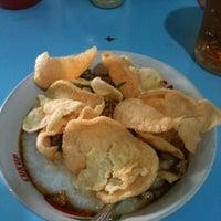 Photo taken at Bubur Ayam Jakarta by Brian F. on 8/24/2012