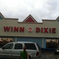 Photo taken at Winn-Dixie by Luke G. on 10/8/2011