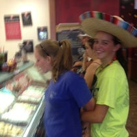 Photo taken at Cold Stone Creamery by Tonya S. on 8/18/2012
