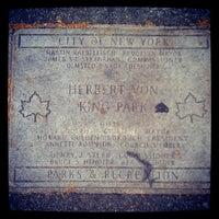 Photo taken at Herbert Von King Park by Stephen M. on 6/14/2012