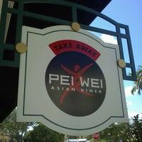 Photo taken at Pei Wei by Zachariah B. on 9/16/2011