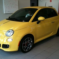 Photo taken at Bergstrom FIAT of Milwaukee by Marianne F. on 9/23/2011