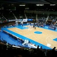 Photo taken at Yoyogi 2nd Gymnasium by mikio i. on 11/26/2011