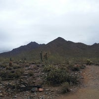 Photo taken at Sonoran Preserve - Sonoran Loop Trail by Kiruthik K. on 3/18/2012