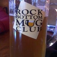 Photo taken at Rock Bottom Restaurant & Brewery by Craig T. on 8/11/2012