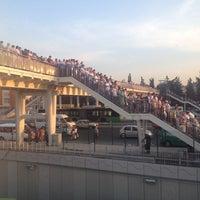 Photo taken at Avcılar Metrobüs Durağı by Bahar Y. on 7/11/2012