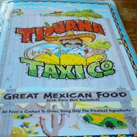Photo taken at Tijuana Taxi Co by Marty B. on 10/22/2011