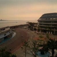 Photo taken at Fullon Hotel Danshuei Fishermen's Wharf by Stephanie C. on 4/20/2012