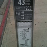 Photo taken at OCTA Bus Stop by Kara H. on 4/7/2011