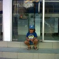 Photo taken at Bank Mandiri KC.Tanjung Pandan by Daesy G. on 1/16/2012