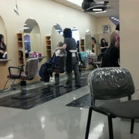 Photo taken at M.J. Capelli Family Hair Salons by Barb D. on 10/22/2011