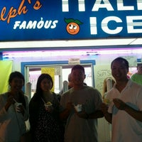 Photo taken at Ralph's Famous Italian Ices & Ice Cream by Daniel L. on 9/6/2011