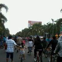 Photo taken at Alun - Alun Klaten by Danang N. on 5/12/2012