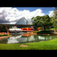 Photo taken at Imagination Pavilion by Jay D. on 8/7/2012