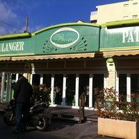 Photo taken at Boulangerie Bono by prevoso on 1/15/2012