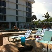Photo taken at Pool @ Sheraton Ft. Lauderdale by Dennis K. on 7/16/2011