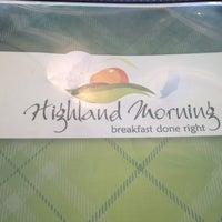 Photo taken at Highland Morning by Joe R. on 5/7/2012