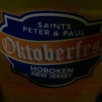 Photo taken at Hoboken Oktoberfest by James R. on 10/16/2011