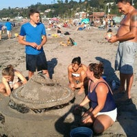 Photo taken at Alki Beach Park by Mary T. on 9/6/2011