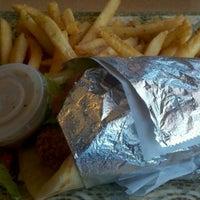Photo taken at Greek City Cafe by James G. on 10/2/2011