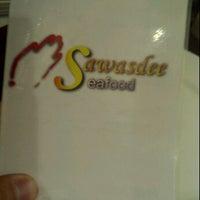 Photo taken at Sawasdee Fine Thai Cuisine Restaurant by Ivan 2. on 10/30/2011