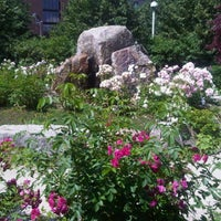 Photo taken at Newman Memorial Gardens by Mark L. on 7/24/2011