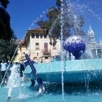Photo taken at Fonte da Amizade by Marco S. on 8/28/2011