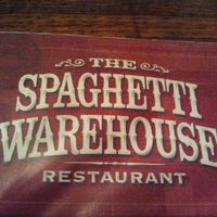 Photo taken at Spaghetti Warehouse by J . on 6/5/2011