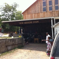 Photo taken at New Morning Farm by Andrew W. on 7/20/2011