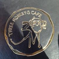 Photo taken at Three Monkeys Café by Marina H. on 3/17/2012
