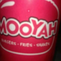 Photo taken at MOOYAH Burgers, Fries & Shakes by Valerie S. on 11/23/2011