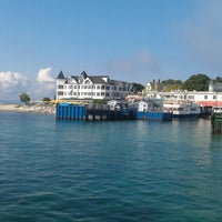 Photo taken at Shepler's Mackinac Island Ferry by Tim E. on 8/14/2012