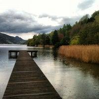 Photo taken at Lago di Caldonazzo by Fabio S. on 4/20/2012