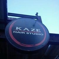 Photo taken at Kaze Hair Studio Mooca by Bruno T. on 11/2/2011