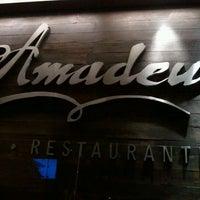 Foto tirada no(a) Restaurante Amadeus por Davi O. em 1/27/2012
