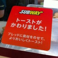 Photo taken at Subway by YSW on 6/1/2012