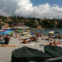 Photo taken at Lungomare di Santa Margherita Ligure by Andrea G. on 8/16/2012