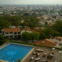 Photo taken at Sheraton Salta Hotel by Alejandro L on 9/29/2011