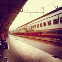 Photo taken at Pasar Senen Station by arie p. on 6/8/2012