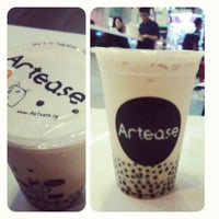 Photo taken at Artease Café by Denny D. on 8/12/2012