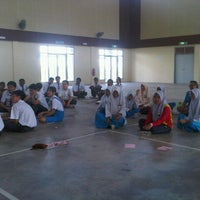 Photo taken at SMK Bandar Setia Alam by Nasheli Izrin K. on 7/12/2012