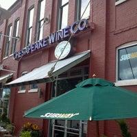 Photo taken at Chesapeake Wine Company by Kurtis on 9/18/2011